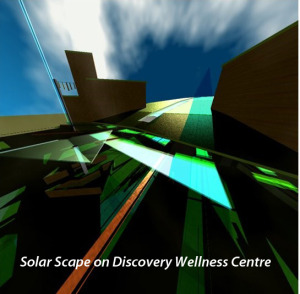 Solar Scape on Discovery Wellness Centre (titled)
