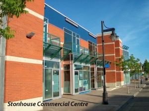Stonhouse Commercial Centre (titled)